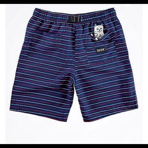 Rip N Dip NWOT striped shorts